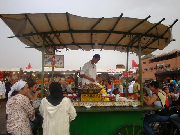 Passeio por Marrakech