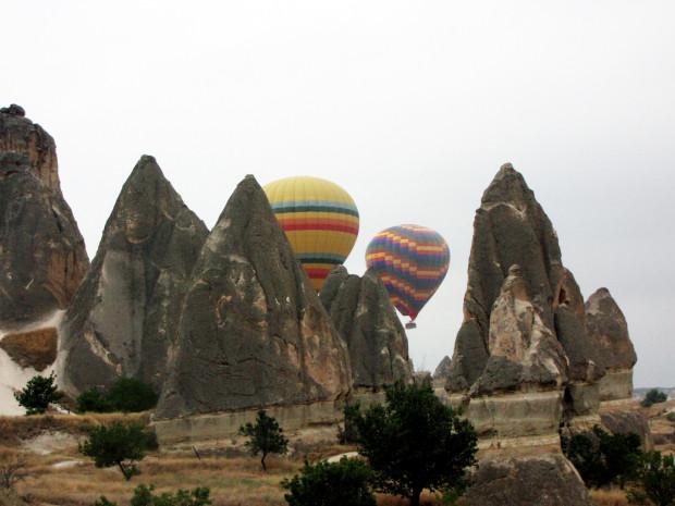 Göreme Capadócia Turquia Ballon flight Passeio de balão