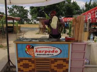 Turquia - Dondurma - Sorvete Turco que não derrete fácil, parece uma goma