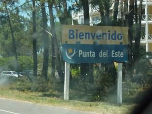 Bienvenido a Punta del Este