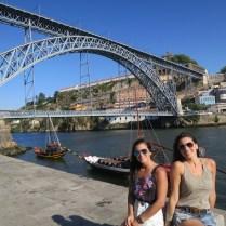 Ponte Luis I, que liga Porto à Gaia