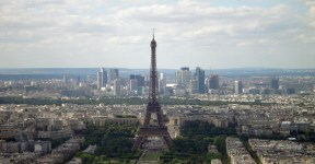 Torre Eiffel do Alto da Torre Montparnasse