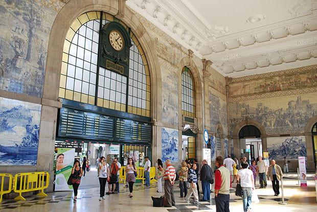 Estação São Bento - Porto, Portugal