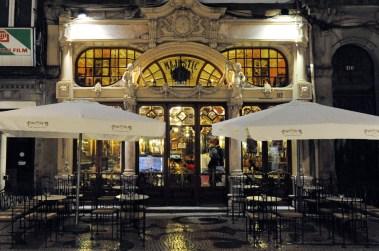Café Majestic no Porto em Portugal