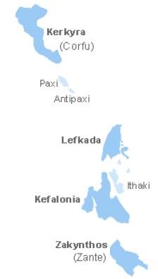Ilhas Jônicas Grécia