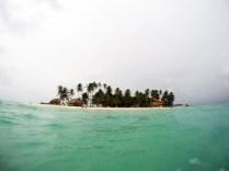 Isla Diablo em San Blas no Panamá