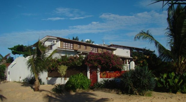 fachada pousada papaya jeri