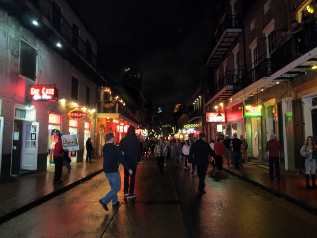 Rua Bourbon Nova orleans