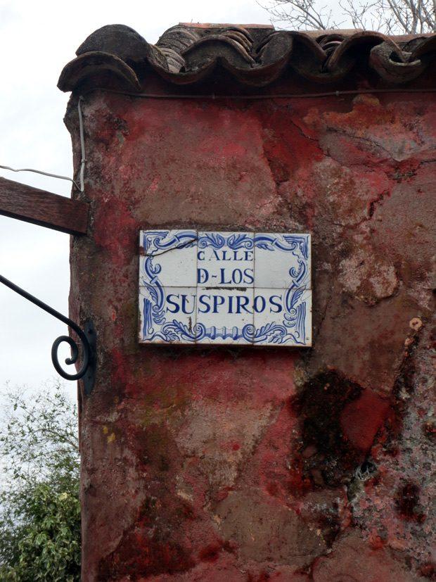 Calle de Los Suspiros em Colonia del Sacramento Uruguay