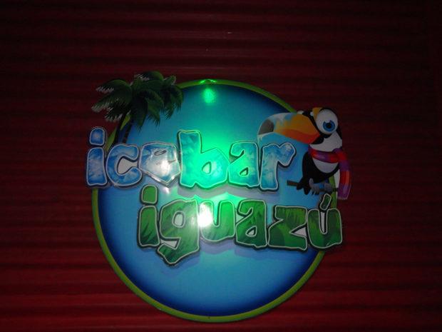 Ice bar em Foz