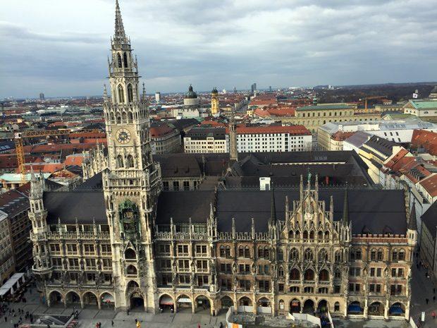 Dicas de Munique Neues Rathaus Nova prefeitura