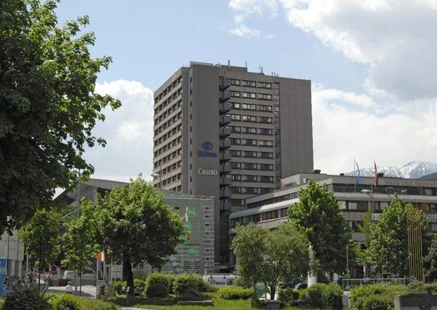Hilton, onde se hospedar em Innsbruck, na Áustria.