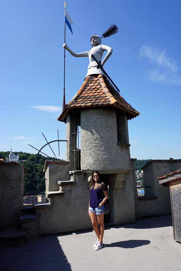 Lucerna vista do Alto das muralhas