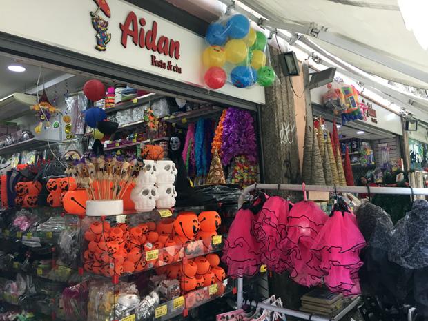 0c0072dc0 Tem várias lojas pelo Saara e muitas opções de artigos de festas em  diversos temas. Para balão de festas a B B Balloon tem um sortimento  enorme