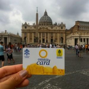 Omnia Card: acesso ao transporte e atrações de Roma