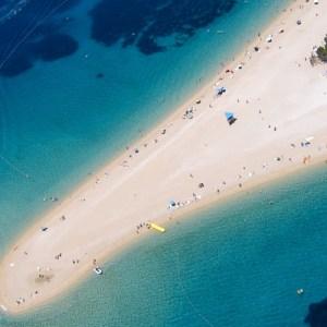 Zlatni Rat, a praia mais bonita da Croácia