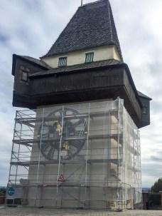 O que fazer em Graz. Torre do relógio, Graz, Áustria