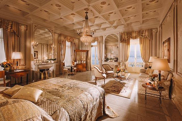 Quarto Grand Hotel Nacional - Onde ficar em Lucerna