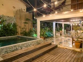 Onde ficar em Caraíva: Pousada Casa das Conchas - Área Externa