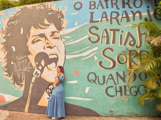 Roteiro Laranjeiras Rio de Janeiro Muro All Star