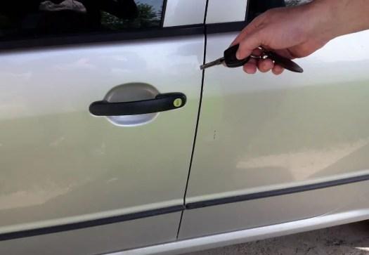 car-door-key-fob