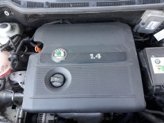 check engine light-problem-skoda fabia mk1-engine cover