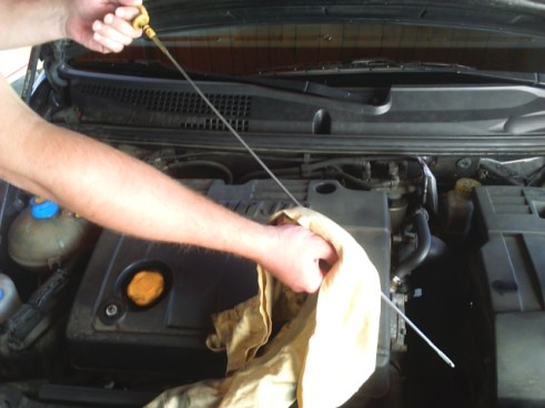how-to-check-engine-oil-level