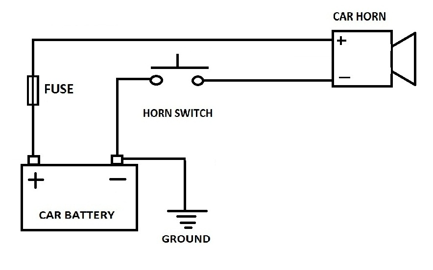 Train Horn Wiring Diagram Without Relay
