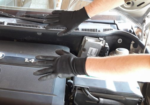 how-to-remove-engine-cover-on-car-use-working-gloves