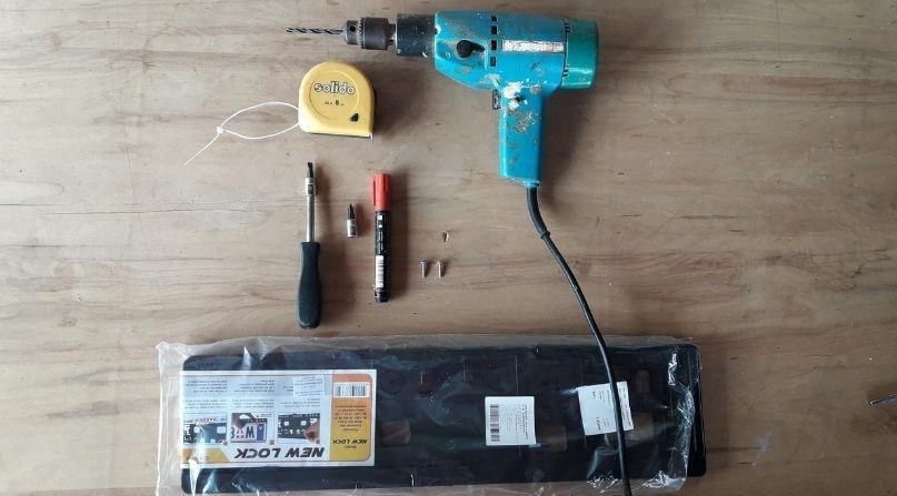 how-to-drill-holes-for-front-license-plate-tools