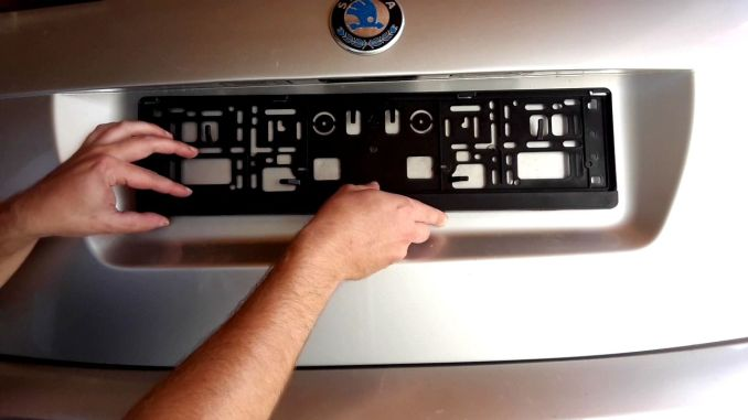 how-to-install-license-plate-frame-diy-tutorial