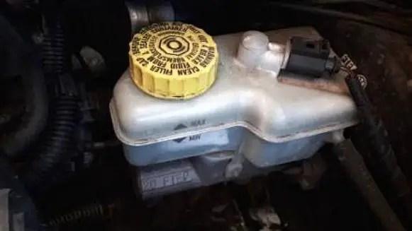 low-brake-fluid-level