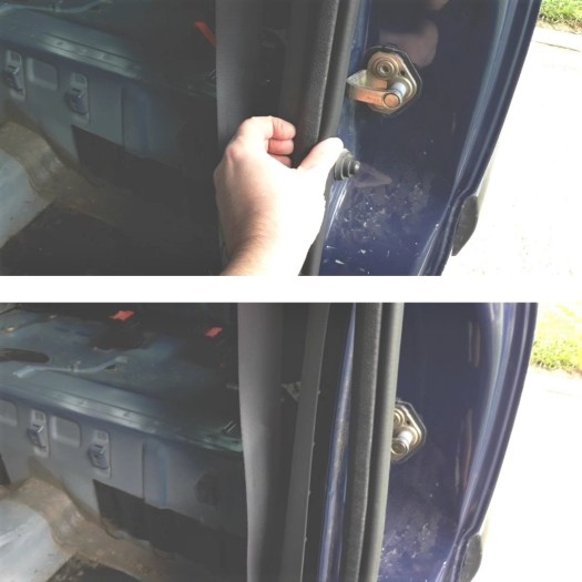 how-to-take-off-rubber-door-seal-on-car