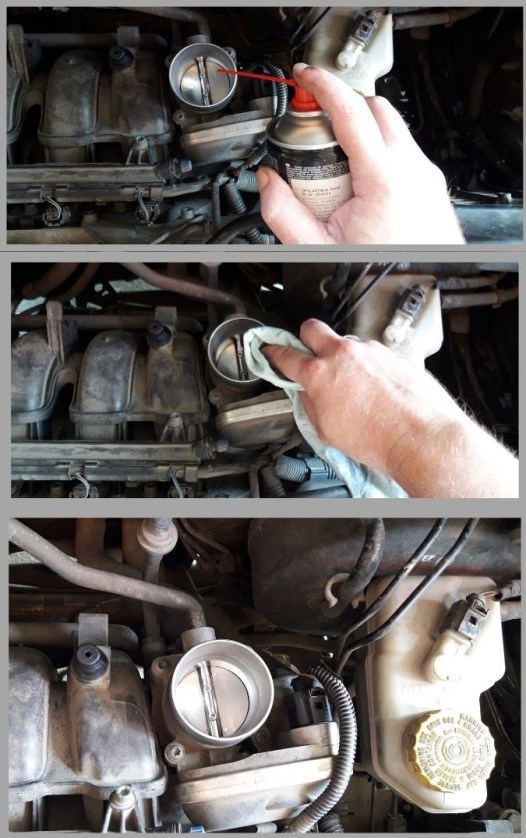 cleaning-the-car-throttle-body