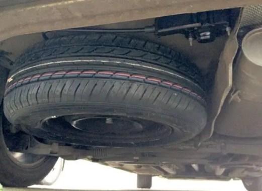 spare-tire-underneath-car