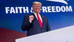 Trump Hails Religious, Economic, Political Victories at Faith & Freedom Event