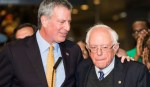 New York Mayor de Blasio Endorses Bernie Sanders for President