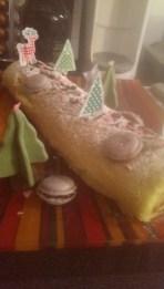 La bûche biscuit roulé confiture de 2013