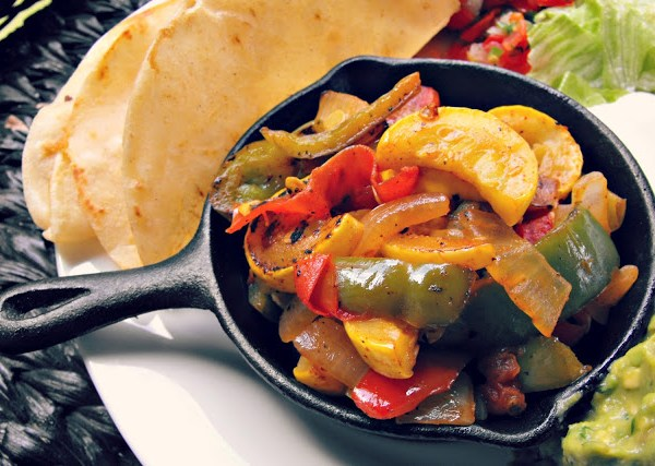 Vegetable Fajitas