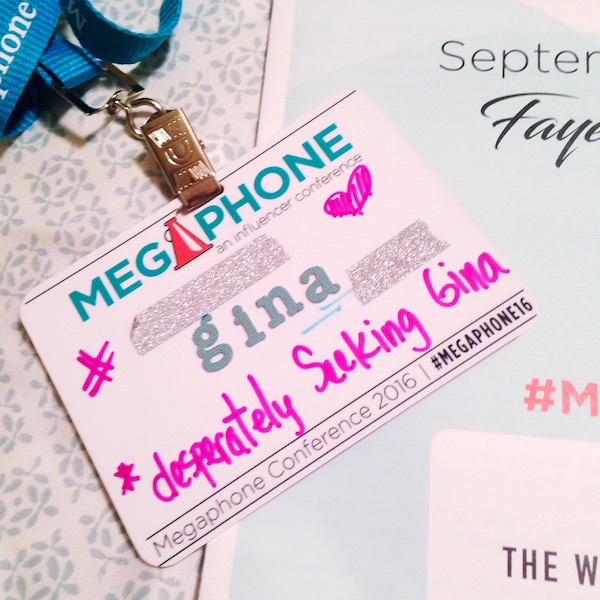 Don't Shout. Find Your Megaphone_The Twiggs Group Name Tags
