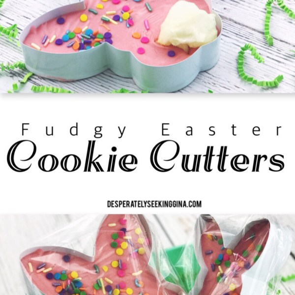 Fudgy Easter Cookie Cutter Gifts