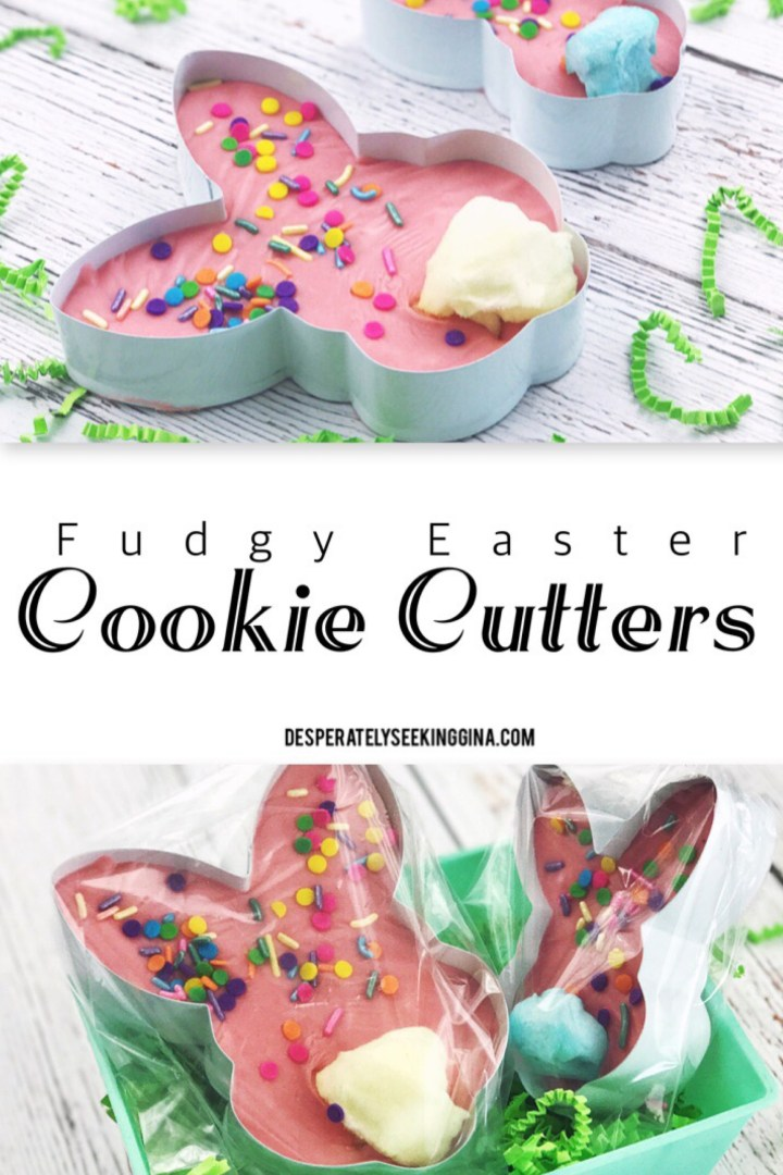 Fudge Easter Cookie Cutter gifts via Desperately Seeking Gina