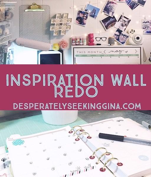 Inspiration Wall Redo