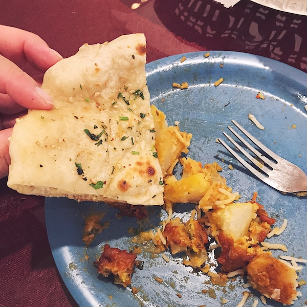 5 things to eat an an Indian restaurant via Desperately Seeking Gina