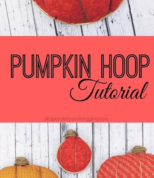 Pumpkin Hoop Tutorial