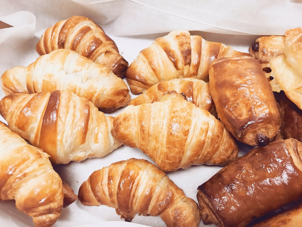 French Croissant Workshop at the University of Arkansas Pulaski Tech Culinary Arts and Hospitality Management Institute.