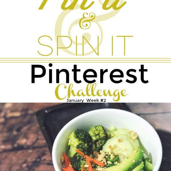 Spring Roll Bowl | Pin it & Spin it