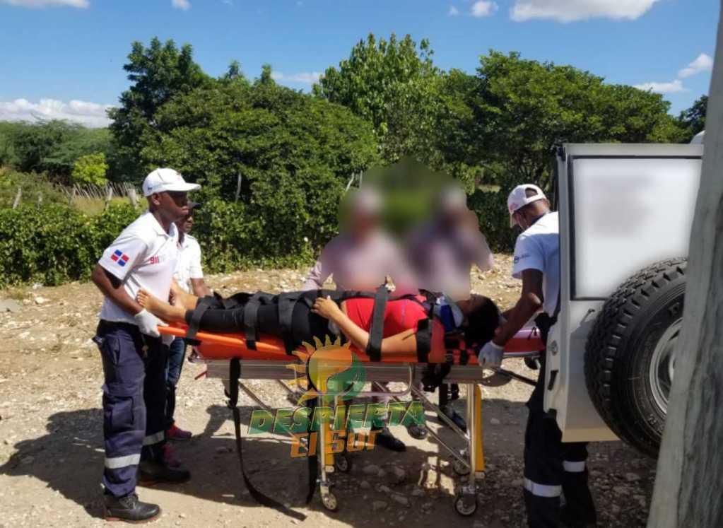 En San Juan. Joven es llevada de gravedad, intoxicada por hacerse aborto.