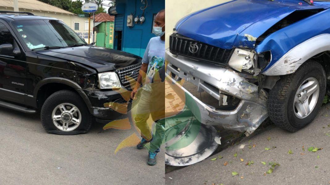Accidente en San Juan de la Maguana