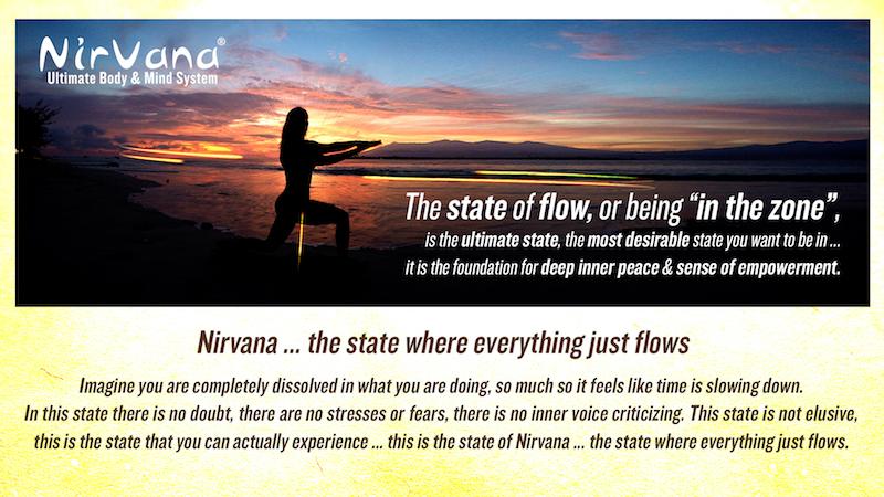 nirvana fitness estado de flujo